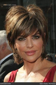 lisa rinna inspired haircut | Lisa Rinna - 34th Annual Daytime Emmy Awards - Arrivals