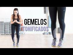 Ejercicios de piernas para tonificar gemelos / pantorrillas - YouTube