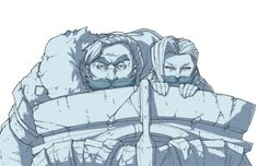 Always have a shield... and a moustache! #league of legends #jinx #braum