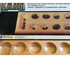 125 kr, Kalaha, familie spil, brætspil, Kalaha - i træ udgaven. Slangerup, Nordsjælland