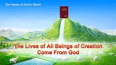 """A Hymn of God's Words """"The Lives of All Beings of Creation Come From God""""  #Amen #hymn #gospel #EasternLightning #hope #peace #Prayer #christian #jesuschrist   #faith #ThechurchofAlmightyGod #Christianity #prophecy #revelation #music #love #life #salvation #HolySpirit #worship #love #Encouraging #Inspirational"""