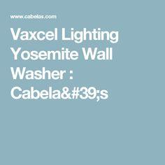 Vaxcel Lighting Yosemite Wall Washer : Cabela's