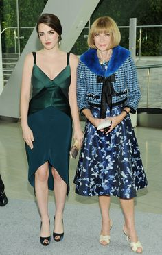 Bee Shaffer & Anna Wintour at the CFDA awards
