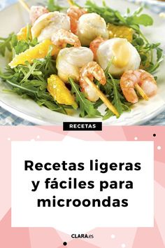 #Recetas #ligeras para preparar en el #microondas. #retecasfaciles #recetasligeras #cocinarapida #cocinasana Salty Foods, Celery, Diabetes, Buffet, Chicken, Vegetables, Easy Food Recipes, Delicious Food, Cook