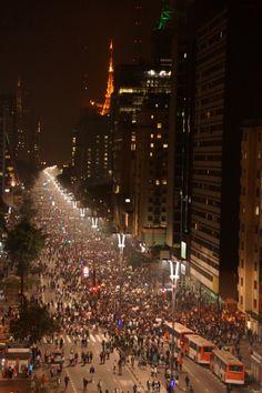 Protestos em São Paulo 2013