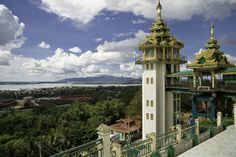 Mawlamyine City is 3rd largest city of Myanmar - where famous Golden Rock (Kyaihteyoo) is lacated