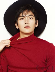 Empress Ki's Ji Chang Wook Loves Hats, Suits, & Sticky Syrup For CéCi's February 2014 Issue Ji Chang Wook Smile, Ji Chang Wook Healer, Ji Chan Wook, Korean Actresses, Asian Actors, Korean Actors, Actors & Actresses, Korean Dramas, Hot Korean Guys
