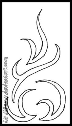 fire flame tattoo want this as a decal for my truck my style pinterest flame tattoos. Black Bedroom Furniture Sets. Home Design Ideas