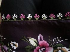 This Pin was discovered by Esm Embroidery Neck Designs, Hand Embroidery, Kutch Work, Point Lace, Tatting Lace, Needle Lace, Lace Making, Thread Crochet, Knitted Shawls