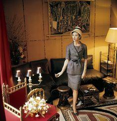 Wearing Dior, 1960   Flickr - Photo Sharing!