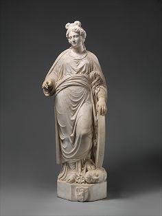 Saint Catherine of Alexandria Cristoforo Solari  (Italian, ca. 1460–1524).  Date:     probably 1514–24. Culture:     Italian, Milan. Medium:     Marble. 120.5 cm