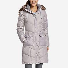 Women's Lodge Cascadian Down Parka Best Winter Coats, Winter Coats Women, Coats For Women, Winter Jackets, Womens Snowboard Jacket, Sun Valley, Down Parka, Eddie Bauer, Cold Weather