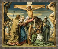 Jesus Christ on the cross Circa 29 AD Original Artwork: A painting by Bonnet. Description from huffingtonpost.com. I searched for this on bing.com/images
