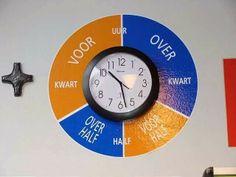 Tip van 'Snap je kind' om kinderen een handig geheugensteuntje te geven bij het leren klokkijken.