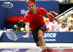 Roger Federer en el US Open. http://www.realsport.es #tenisenHD