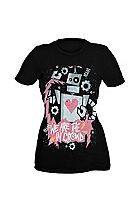 We Are The In Crowd Malfunction Girls T-Shirt Sku 996513