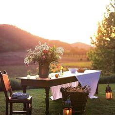 Outdoor Dinner Parties