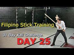 DAY 25: Short Staff Training Filipino Kali Eskrima - 31 Day Kali Challenge