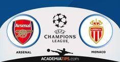 Arsenal vs Mónaco – Liga dos Campeões: O Arsenal nos tem vindo a habituar a presenças na Liga dos Campeões e tem um conjunto que impõe respeito, o Mónaco... http://academiadetips.com/equipa/arsenal-vs-monaco-liga-dos-campeoes/