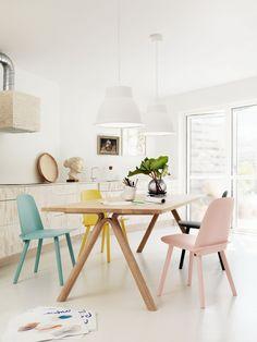 El Diseño Cazador: Interior Styling | Mesa de comedor Iluminación