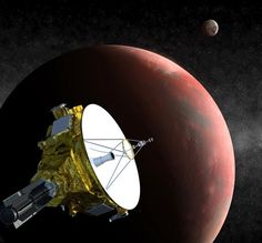 Sonda da Nasa que hibernava acorda para começar missão rumo a Plutão
