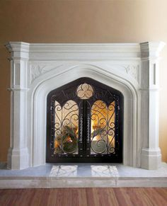 Page full of mantel ideas