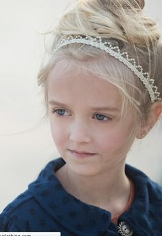 Persnickety Clothing Pearl Tiara Headband-persnickety,pearl,tiara,headband,spring 2014,girls,hair accessories,tiara headband,persnickety clothing
