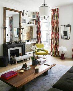 Very Chic Paris Apartment — Audrey, Paris — Inside Closet Coastal Living Room Furniture, Living Room Furniture Inspiration, Bedroom Furniture Inspiration, Furniture, Rustic Furniture Design, Table Furniture, Living Room Sets Furniture, French Furniture, Home Decor