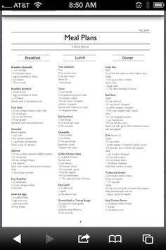 gastric bypass dieet menu