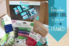 Darby Girl by Darby Smart - craft subscription box for teen and tween girls. $12/month. #madebyme #darbygirl #darbysmart