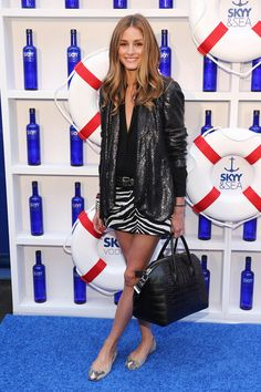 Actress and designer Olivia Palermo attends the 2013 Governors Ball music festival official kick off party hosted by SKYY Vodka at Hornblower Infinity on June 6, 2013 in New York City.