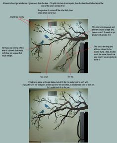 Tips For Painting A Tree Mural - Addicted 2 Decorating®