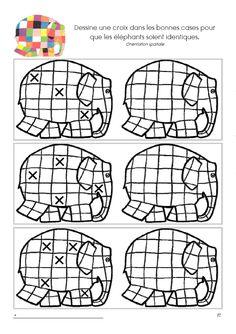 Télécharger les jeux d'eveil Elmer gratuitement Bullet Journal Inspiration, Pixel Art, Kindergarten, Preschool, Education, Toddler Activities, Short Stories, Early Education, Activities