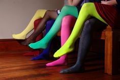 colorful stockings....