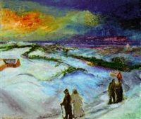 Vinterafton by Jens Andersen Sondergaard