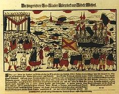 The Vitalienbrüder. Piracy became endemic in the Baltic sea in the Middle Ages.