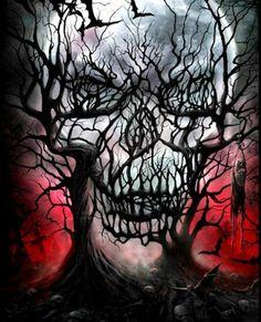 Diamond Embroidery Horror ghost skull Full Square/Round Diamond Mosaic Diamond Painting Picture Rhinestone Landscape Home Decoration Dark Fantasy Art, Dark Art, Arte Horror, Horror Art, Funny Horror, Skull Tattoos, Body Art Tattoos, Evil Skull Tattoo, Key Tattoos