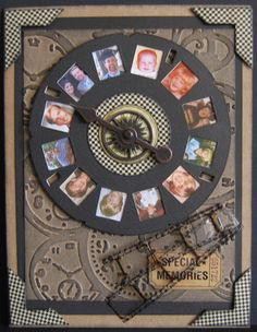 Special Memories ~ travel through time with a family member by featuring them on their own heritage clock!