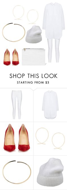 """Uncomplicated"" by fashionandbeautyink ❤ liked on Polyvore featuring 10 Crosby Derek Lam, Mulberry, Christian Louboutin, Maison Margiela, Forte Forte and Clare V."