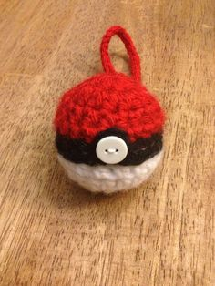 Pokeball EOS Lip Balm Holder/Treat Pouch - (EOS not included) on Etsy, $9.50