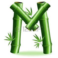 Bamboo Logo Brief Sign M photo