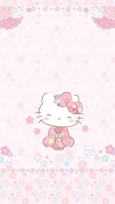 Hello Kitty and like OMG! get some yourself some pawtastic adorable cat apparel! Hello Kitty Iphone Wallpaper, Hello Kitty Backgrounds, Sanrio Wallpaper, Cute Backgrounds, Kawaii Wallpaper, Cat Wallpaper, Hello Kitty Art, Hello Kitty Themes, Hello Kitty Birthday
