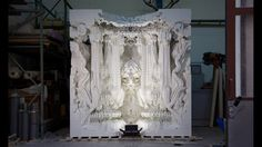 3D printed room by michael hansmeyer digital grotesque designboom