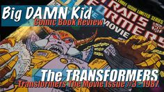 Lighting Their Darkest Hour - The Transformers Movie Issue #3 - 1987  In the final issue of the comic adaptation of Transformers the Movie we see characters embrace their destiny. We also see a brutal execution of a character that was not the same as in the movie. Galvatron gets even more crazy and Unicron has an amazing case of matrix indigestion.  A full write-up of this Issue can be found at - Big Damn Kid.com  The T-Shirt I am Wearing - Rowdy Rodimus Prime
