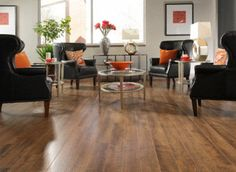 Made in the USA, moisture-resistant, easy click install...it's Rio Grande Valley Oak Laminate