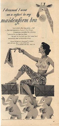 Original Source: Woman's Day, October 1954  Via: Vintage Ads and Stuff