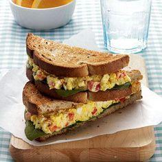 Curried Egg Salad Sandwich