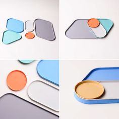 APOP means – a piece of plastic – the plastic has been used as industrialized things fo mass product. BKID think the unlimited value for just a single plastic pieces as modulized tray extension. Life Design, Baby Design, Desk Arrangements, Plastic Trays, Concrete Crafts, Technology Design, Stationery Set, Office Accessories, Paint Designs