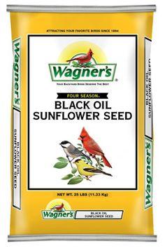 with Birdfeeders: Black Oil Sunflower Seed. Attracts the widest variety of birds of any bird seed. http://www.farmersmarketonline.com/birdfeeders.htm