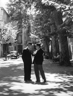 Aix en Provence 1958 |¤ Robert Doisneau | 28 août 2015 | Atelier Robert Doisneau | Site officiel
